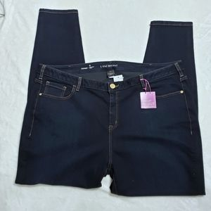 LANE BRYANT Skinny Jeans NWT Dark Wash